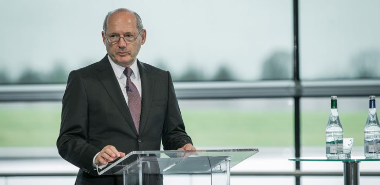 Ron Dennis CBE, Chairman and Chief Executive of the McLaren Group Speech to Welcome the Secretary of