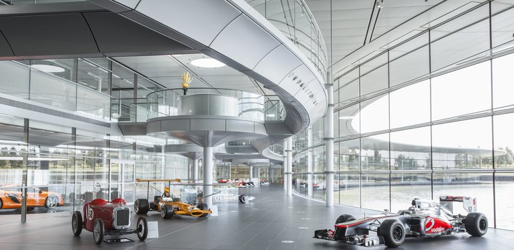 The Boulevard at the McLaren Technology Centre